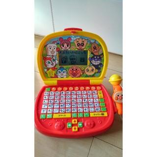 BANDAI - アンパンマンマイクはじめてのパソコン