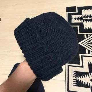 コモリ(COMOLI)のクレプスキュール  ニット帽(ニット帽/ビーニー)