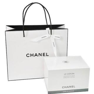 シャネル(CHANEL)のCHANEL シャネル コットン オリジナルショップバッグ&リボン 新品(コットン)