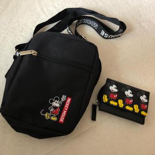 ミッキーマウス(ミッキーマウス)のディズニー❤️ミッキー❤️ショルダーバッグ❤️財布❤️xgirl❤️付録❤️新品(ショルダーバッグ)
