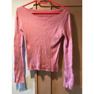 シールームリン(SeaRoomlynn)のシールームリン ピンク ロンT(Tシャツ(長袖/七分))