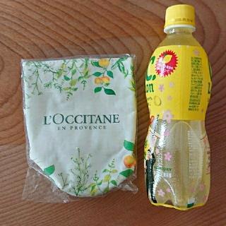ロクシタン(L'OCCITANE)のロクシタン ペットボトルカバー 新品 ノベルティ(その他)