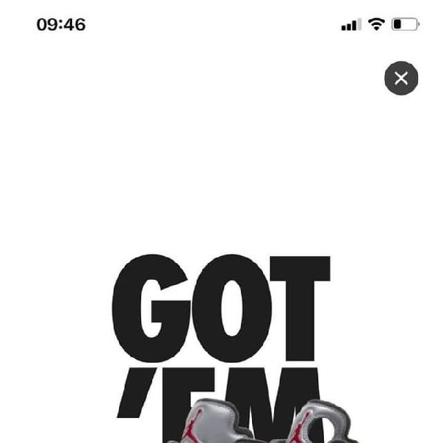 OFF-WHITE(オフホワイト)のjordan 5 off white メンズの靴/シューズ(スニーカー)の商品写真