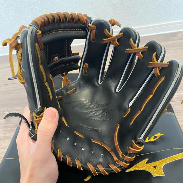 MIZUNO(ミズノ)のBSSショップ限定 ミズノプロ 軟式内野手用 坂本型5mm小 サイズ8 スポーツ/アウトドアの野球(グローブ)の商品写真