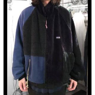 patagonia - gilet リメイクフリースジャケット