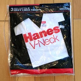 ヘインズ(Hanes)の80s Hanes V-Neck ヘインズ Vネック パック tシャツ (1枚)(Tシャツ/カットソー(半袖/袖なし))