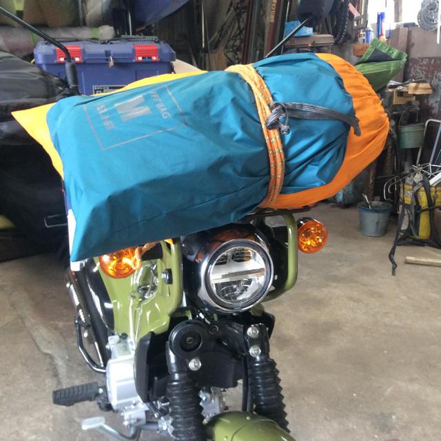 ホンダ(ホンダ)のクロスカブ フロントキャリア 自動車/バイクのバイク(パーツ)の商品写真
