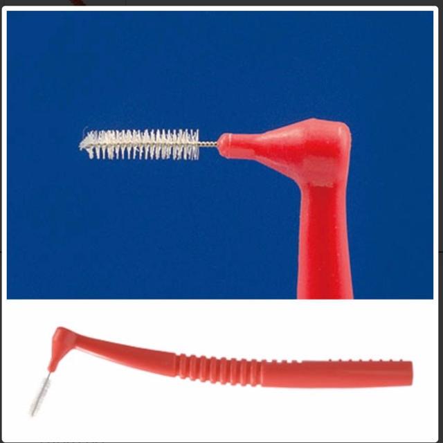 歯間ブラシ 4s コスメ/美容のオーラルケア(歯ブラシ/デンタルフロス)の商品写真