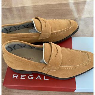 リーガル(REGAL)のリーガル コインローファー(REGAL)24.5センチ ゴアテックス 新品未使用(ドレス/ビジネス)
