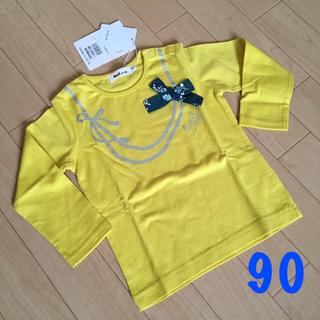 ベベノイユ(BEBE Noeil)のBEBE*長袖トップス【90】(Tシャツ/カットソー)