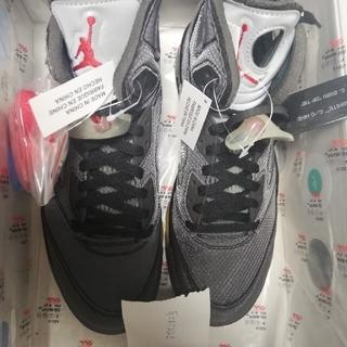 オフホワイト(OFF-WHITE)の Nike Off-White Air Jordan 5 27.5cm(スニーカー)