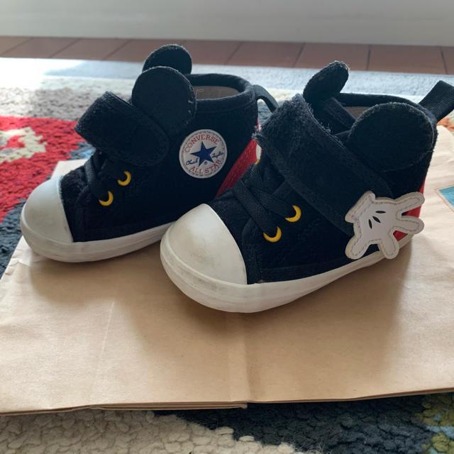 CONVERSE(コンバース)のコンバース ミッキー キッズ/ベビー/マタニティのベビー靴/シューズ(~14cm)(スニーカー)の商品写真