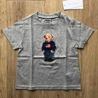 Ralph Lauren - ポロベア グレー Tシャツ 90