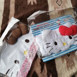 ハローキティ - キティ冷却ジェル枕&ヘアバンド