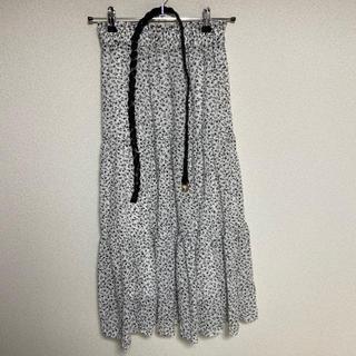 しまむら - 小花柄スカート