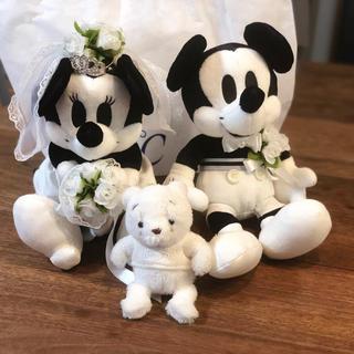 ディズニー(Disney)の4°C ミッキー & ミニーぬいぐるみ くまのプー 非売品(キャラクターグッズ)