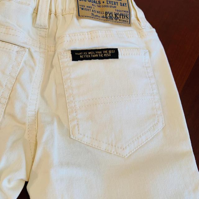 F.O.KIDS(エフオーキッズ)の未使用品 F.O.KIDS  パンツ 100 サイズ  キッズ/ベビー/マタニティのキッズ服男の子用(90cm~)(パンツ/スパッツ)の商品写真