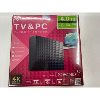 エレコム(ELECOM)の外付けHDD 4TB(PC周辺機器)