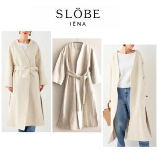 IENA SLOBE - 【2019SS定価27,500円】スローブイエナ ツイードロングコート