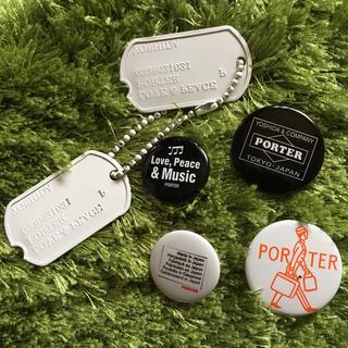 ポーター(PORTER)のポーター 缶バッジ(その他)