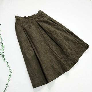 レプシィム(LEPSIM)のLEPSIM *ジャガードフレアスカート*(ひざ丈スカート)