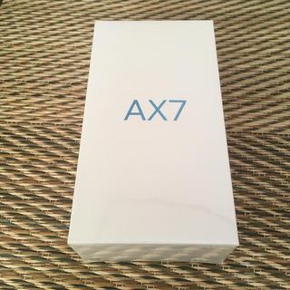 アンドロイド(ANDROID)のOPPO  AX7 SIMフリー (スマートフォン本体)