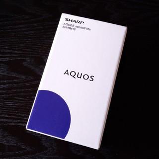 SHARP - AQUOS sense3 lite SH-RM12