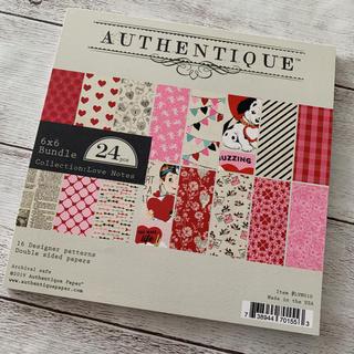 【新品】Authentique Paper 6インチペーパーパッド