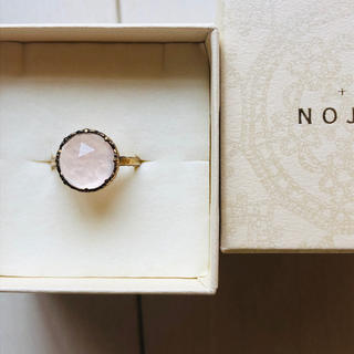 NOJESS - NOJESS ノジェス ローズクォーツ リング 11号 ☺︎❥❥