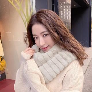 【新品未使用】ミコアメリ スヌード