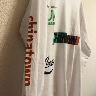 アパルトモンドゥーズィエムクラス(L'Appartement DEUXIEME CLASSE)の19aw 新品 chinatown market ロゴ ロンT カットソー(Tシャツ/カットソー(七分/長袖))