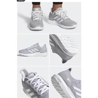 アディダス(adidas)のアディダス adidas スニーカー グレー DB1755 ランニングシューズ(スニーカー)