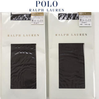 ポロラルフローレン(POLO RALPH LAUREN)の新品 ポロラルフローレン タイツ 2足(タイツ/ストッキング)
