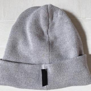 Gucci - グッチGUCCIニット帽 ニットキャップ グレー 中古