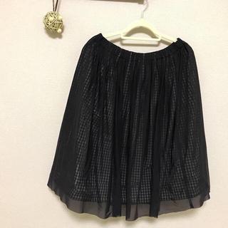 ルーニィ(LOUNIE)の LOUNIE リバーシブルスカート(ひざ丈スカート)