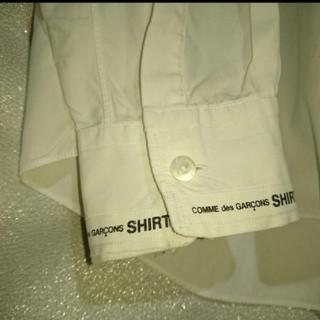 コムデギャルソン(COMME des GARCONS)のcomme des garcons shirt ロゴシャツ(シャツ)
