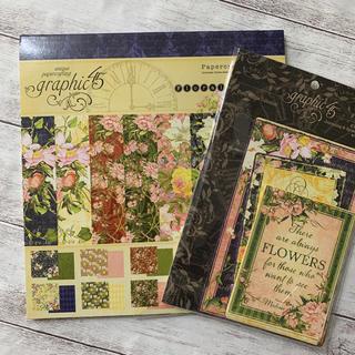 【新品】Graphic 45 Floral Shoppeセット
