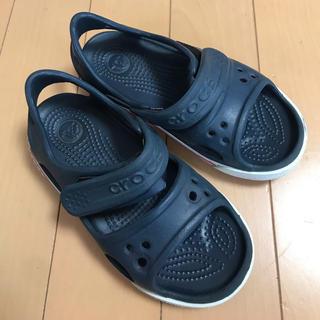 crocs - クロックス キッズサンダル17.5サイズ