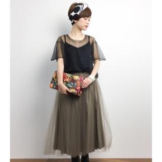 ビリティスディセッタン(Bilitis dix-sept ans)のビリディス New Long Tutu Skirt(ロングスカート)