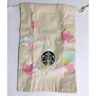 スターバックスコーヒー(Starbucks Coffee)のスターバックス さくら 2020  巾着のみ(ポーチ)