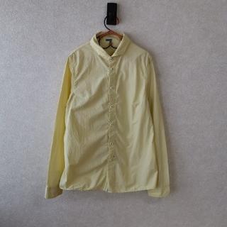 フォーティーファイブアールピーエム(45rpm)のパラスパレスイエローシャツ(シャツ/ブラウス(長袖/七分))