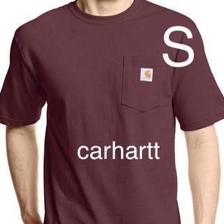 carhartt - carhartt  カーハート ワインレッド 赤 半袖 Tシャツ S