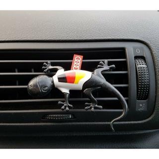 AUDI - Audi 純正 ゲッコー 限定モデル エアフレッシュナー (ドイツ/スパイシー)