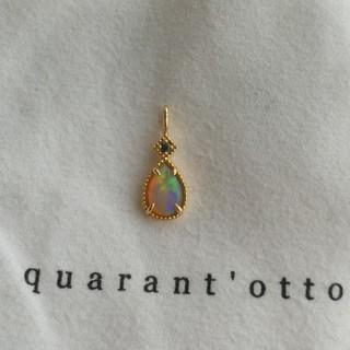 agete - quarant'otto クアラントット オパールネックレスチャーム
