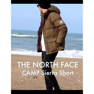 ザノースフェイス(THE NORTH FACE)のノースフェイス キャンプシエラショートダウン ビーチグリーン(ダウンジャケット)