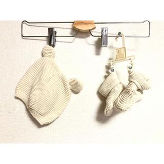 babyGAP - babyGAP 新生児帽子とシューズ