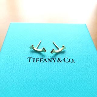 Tiffany & Co. - Tiffany スマイル ピアス 18Kゴールド キャッチなし