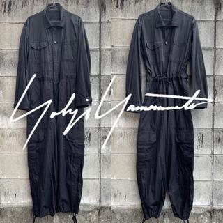 ヨウジヤマモト(Yohji Yamamoto)のヨウジヤマモト ワイズフォーメン ツナギ ドレス ジャンプスーツ 17aw(その他)
