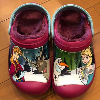crocs - クロックス アナ雪 18〜19センチ