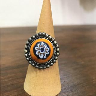 マライカ(MALAIKA)のガラス玉リング(リング(指輪))